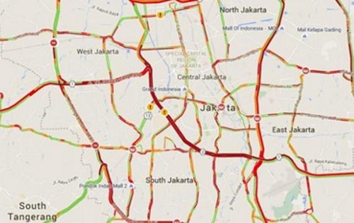 ジャカルタ渋滞