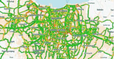 ジャカルタ 渋滞