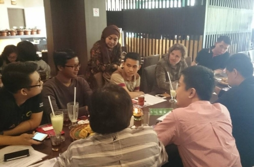 インドネシア人 食事会
